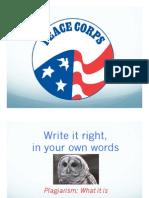 1 Plagiarism Lesson PPT