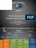 Persistent Surveillance Systems Wide Area Surveillance in Support of Law Enforcement