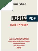 PIC18F1320_Uso de Los Puertos