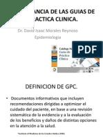 Importancia de Las Guias de Practica Clinica (1)