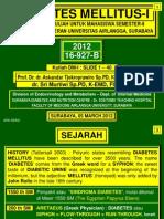 01. Diabetes Mellitus Part 1 - Prof.askandar
