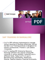 SAP Training in Bangalore