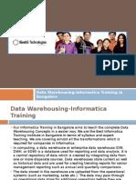 Informatica Training in Bangalore