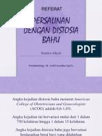 Referat Distosia Bahu