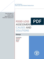 Food Loss Assessment