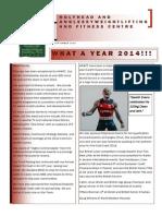 Newsletter HAWFC 2014