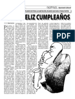 """""""Bird"""", Feliz Cumpleaños (Oja x Oja 2014-09-01)"""