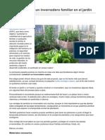 Cocinasalud.com-Cmo Construir Un Invernadero Familiar en El Jardn