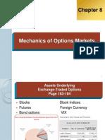 Mechanics of Options Markets