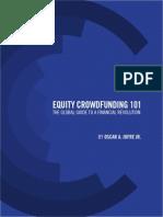 Equity CrowdFunding 101 The Global Phenomenon