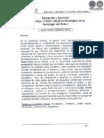 EDUCACION Y SOCIEDAD - CABALLERO MERLO - PORTALGUARANI