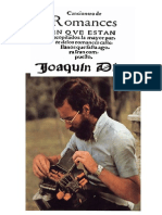Romancero Castellano. Joaquín Díaz