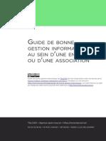 Guide de Bonne Gestion Informatique