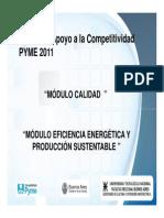 Apoyo a La Competividad Pyme 2011
