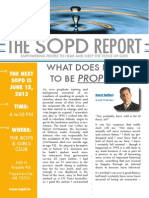 The SOPD Report June 2013