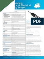 5TE Soil Moisture Temp Sensor Datasheet
