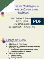 T%E9cnicas de Modelagem e Controle de Conversores Est%E1ticos.ppt