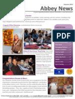 Abbey Centre Newsletter Autumn 2014