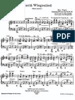 Maria Wiegenlied Op 76