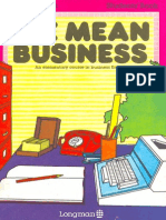Longman Press 1-1 We Mean Business Student's Book