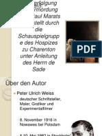 Die Verfolgung Und Ermordung Jean Paul Marats Dargestellt