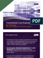 Presentation Transmission Line Design Rev0