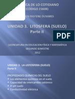 Unidad 3 Litosfera Suelo II Qca Lfm 2012
