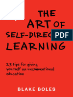 The Art of Self-Directed Learning (Excerpt) - Blake Boles