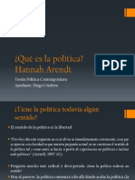 Arendt, Qué es la política - Qué es la libertad