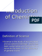 Introduction of Chemistry