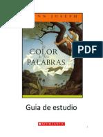 151785403 Guia Lectura Color de Mis Palabras Scholastic
