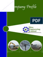 Company Profile Max Engineering