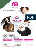 Agenda cultural de Conarte   septiembre 2014
