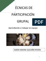 Técnicas de Participación Grupal (1)