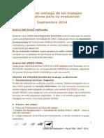 Realización 1 (RyLA) - Pautas Evaluación Septiembre 2014
