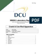 MM203 Laboratory Report