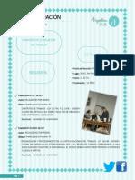 Informe de Comisión de Trabajo 27 Agosto 2014