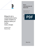 Mitigación de la contaminación local y cambio climático en América Latina y el Caribe