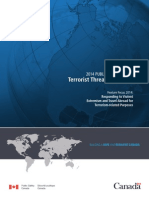 Canada Terrorist Threat 2014