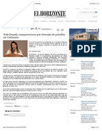26-08-14 Pide Senado comparecencia por derrame de petróleo en Cadereyta.