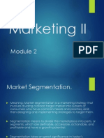 Marketing II RCU sylabus