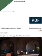 Blender Para Arquitectura_en Ingles