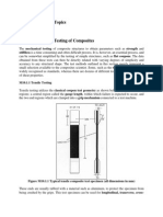 Lecture 5_Module 4_Mechanical Testing of Composites