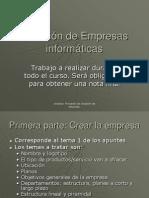 0.Creacion de Empresas Informaticas