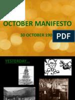 9.October Manifesto