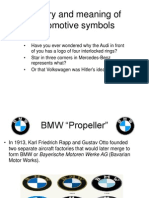 History and Meaning of Automotive Symbols