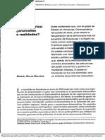 Centroamérica Anomalías o Realidades, 2010