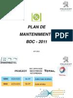 Plan de Mantenimiento Peugeot
