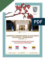 Brief Congreso de Secretarias 2014 Septiembre