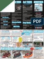 Durango Rivertrippers & Adventure Tours Brochure